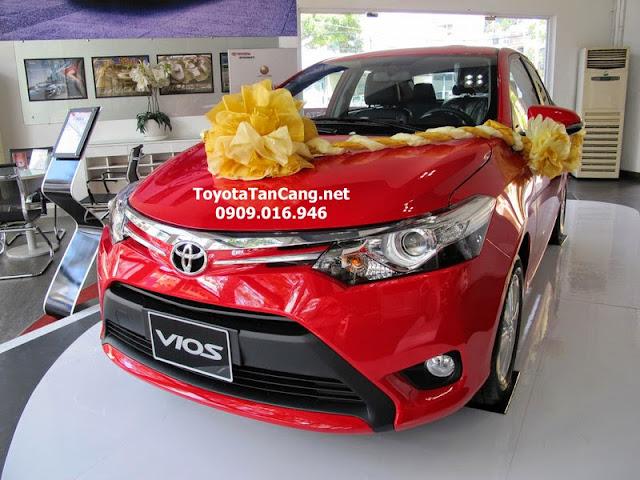 Toyota Vios 2015 với thiết kế trẻ trung, hiện đại theo xu hướng thiết kế mới của Toyota