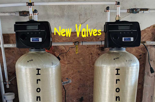 Apartment Owner In Asheville Updates Valves On Iron Filter