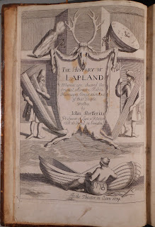 Frontispiece to History of Lapland