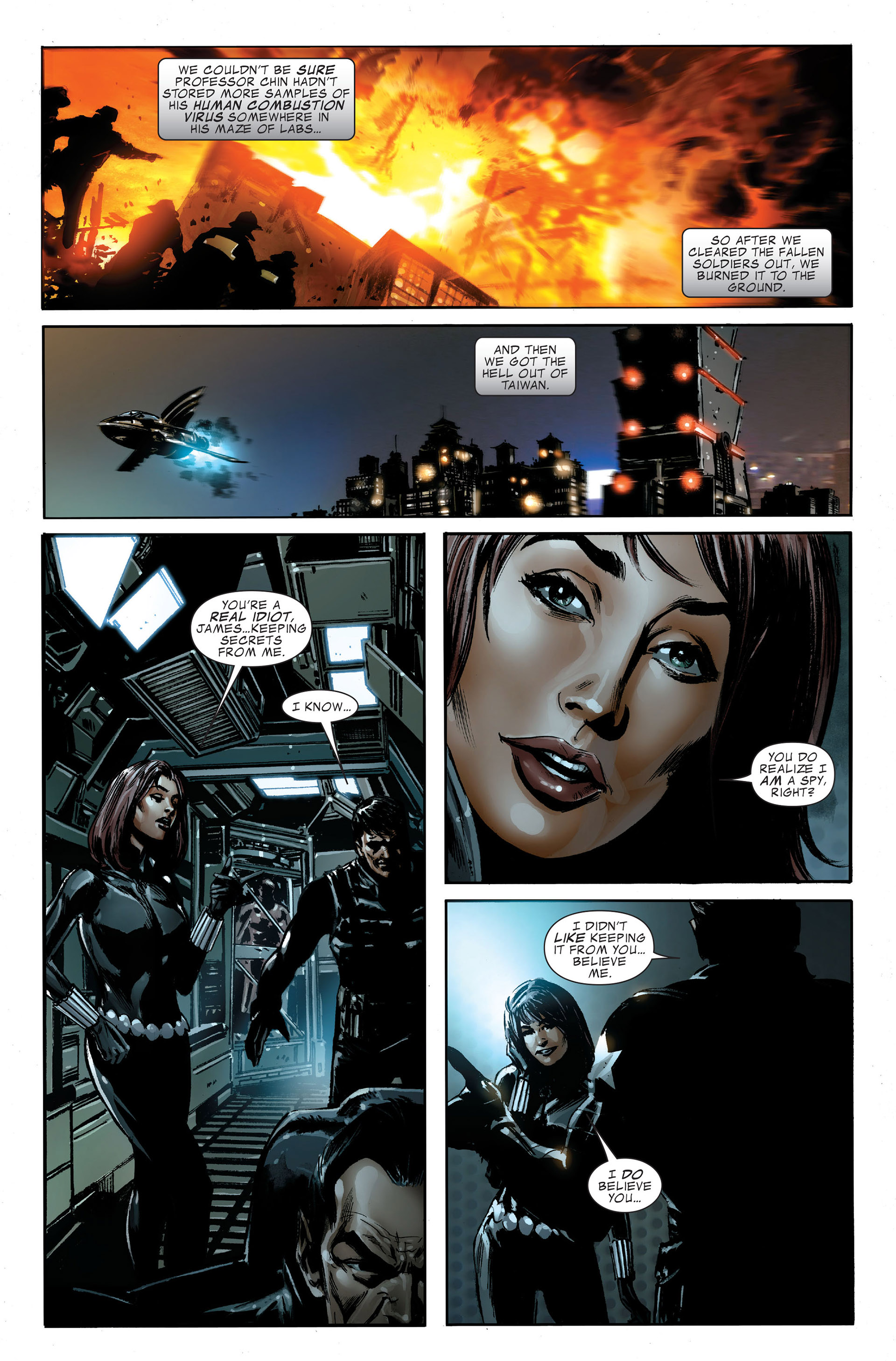 Read online Captain America (2005) comic -  Issue #48 - 21
