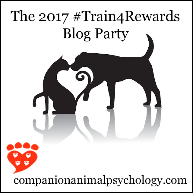 The blog party about reward-based training for dogs and other pets