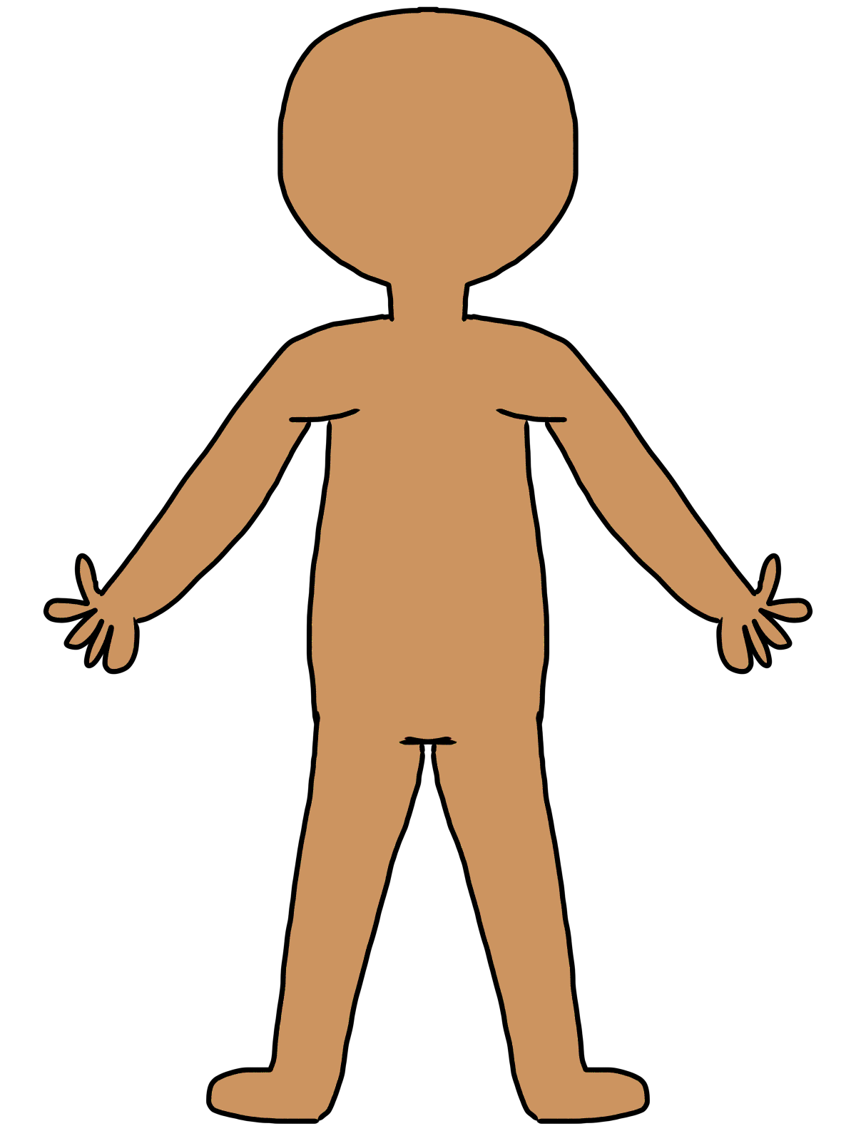 clipart human figure - photo #19