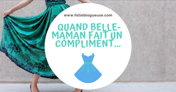 compliment, belle-mère, belle-maman, journée pourrie, folle blogueuse, shopping, desigual