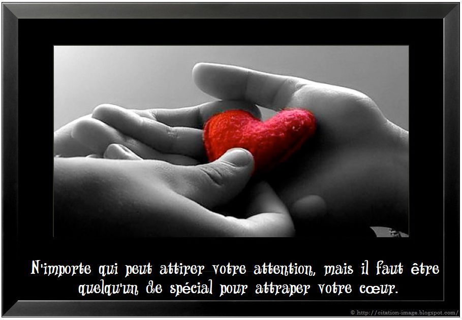 Une citation d'amour sur image ~ Citation en image : photo citation