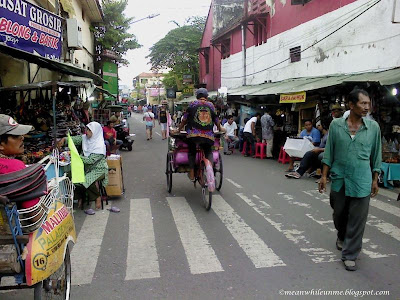 Suasana Jalan Sosrowijayan