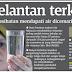 Air Berkeladak Selut dan Payau di Kelantan