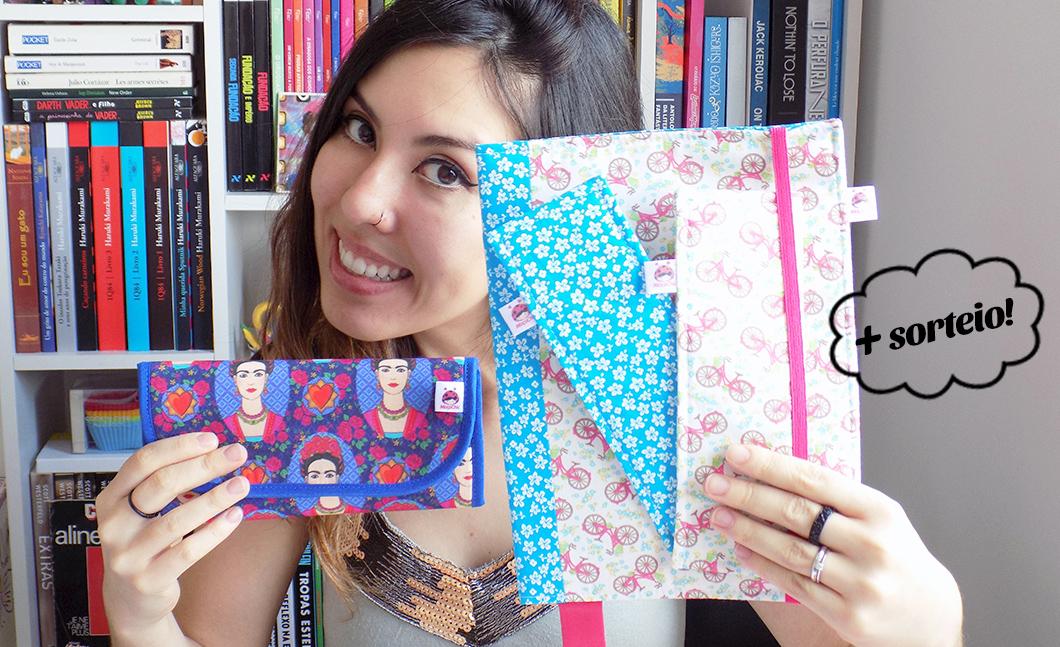 Moça Chic Bolsas e Acessórios + sorteio de capa para livros
