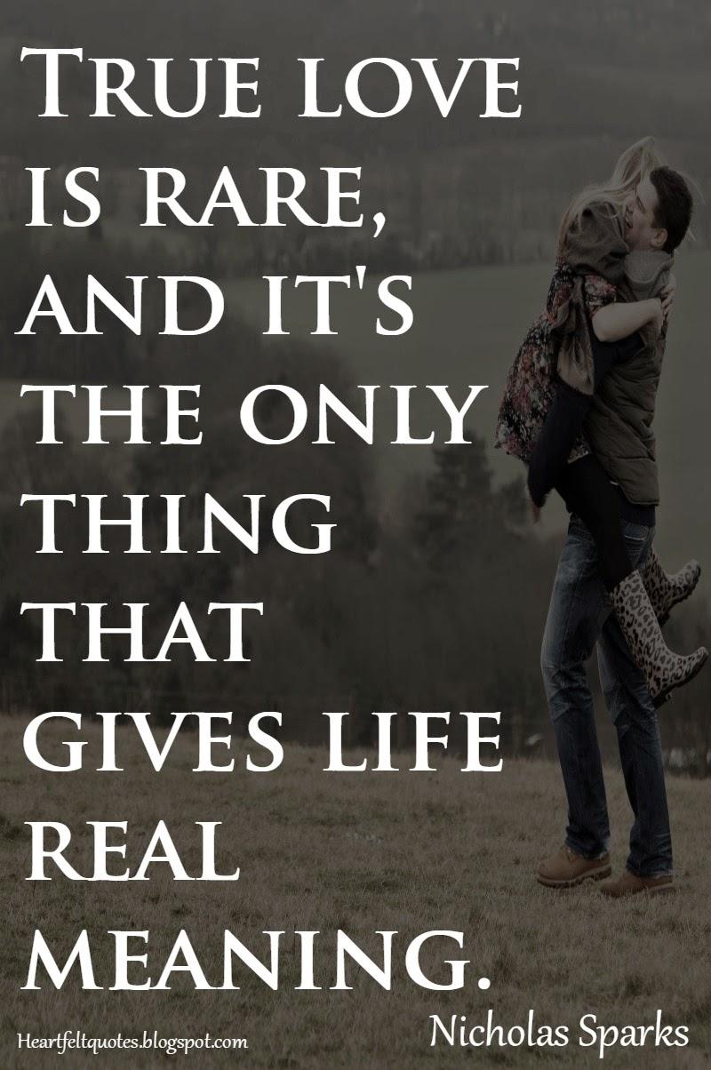 Heartfelt Quotes: Nicholas Sparks Romantic Love Quotes