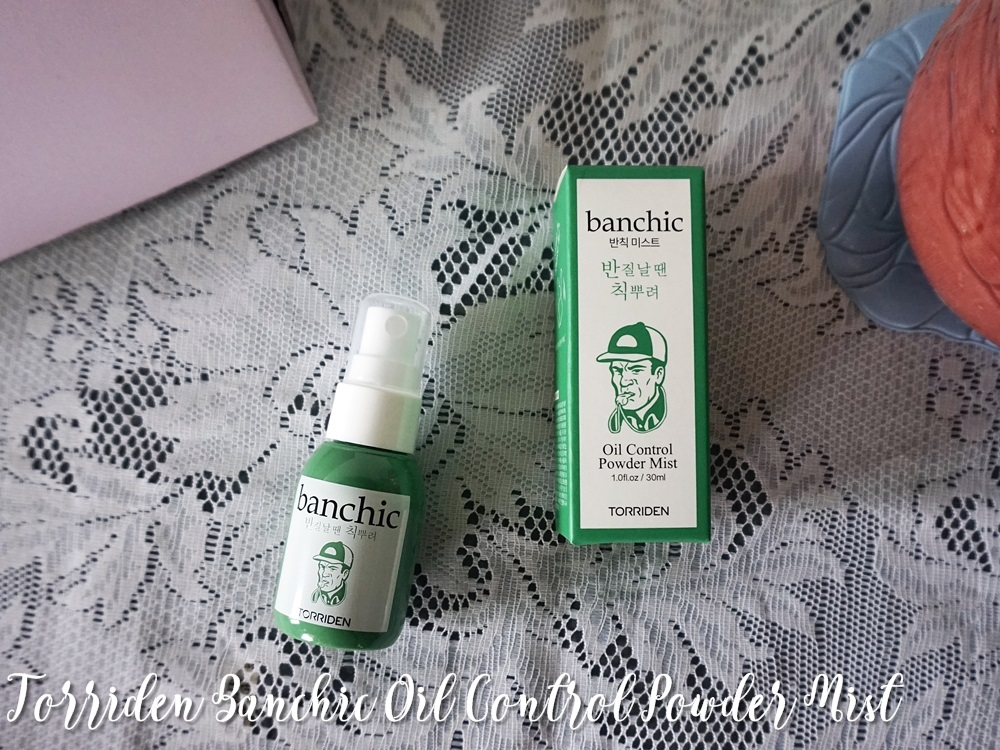 Torriden Banchic Oil Control Powder Mist