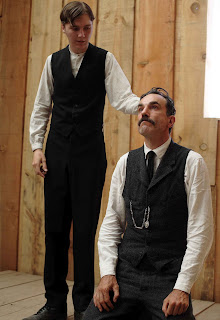 Eli Sunday Baptizes Daniel Plainview, There Will Be Blood, daniel day-lewis