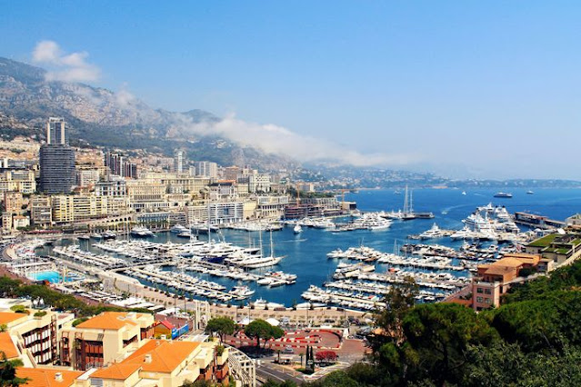 French Riviera as viewed from Monaco