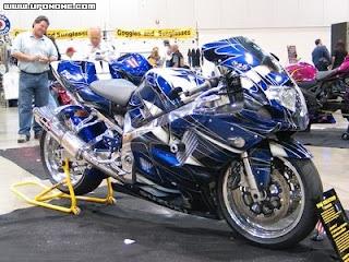 Motocicleta espectacular