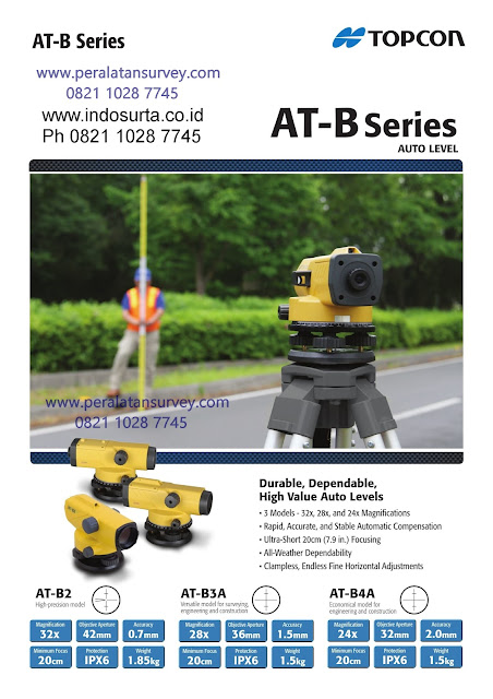TOPCON AT-B2 || AT-B3 || AT-B4 Auto Level Engineer Supply