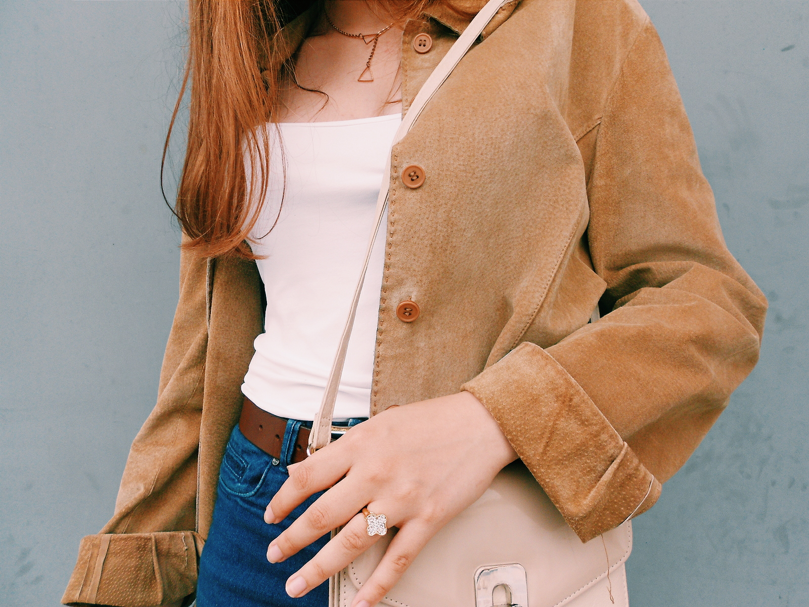 Outfit | Vintage jacket
