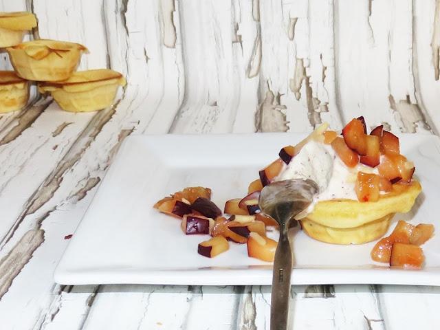 Joghurteis im Waffelcup - DIY vonKarin