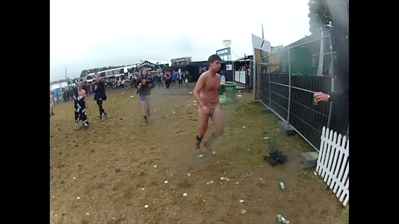 nude running guy