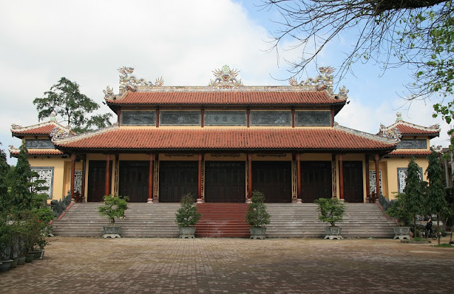 The Sacred Pagodas in Hue 1