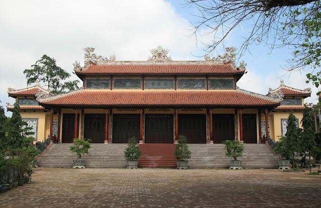 The Sacred Pagodas in Hue 1