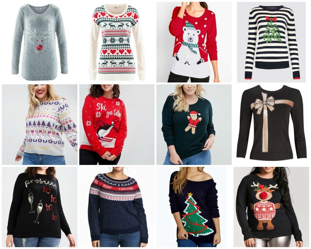 disponibilità nel Regno Unito f13eb e07e5 Want! Maglioni natalizi | Plus... Kawaii! - curvy e plus ...
