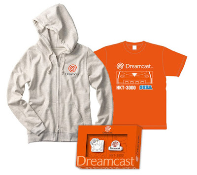 The Dreamcast merchandise prize set (3 sets)