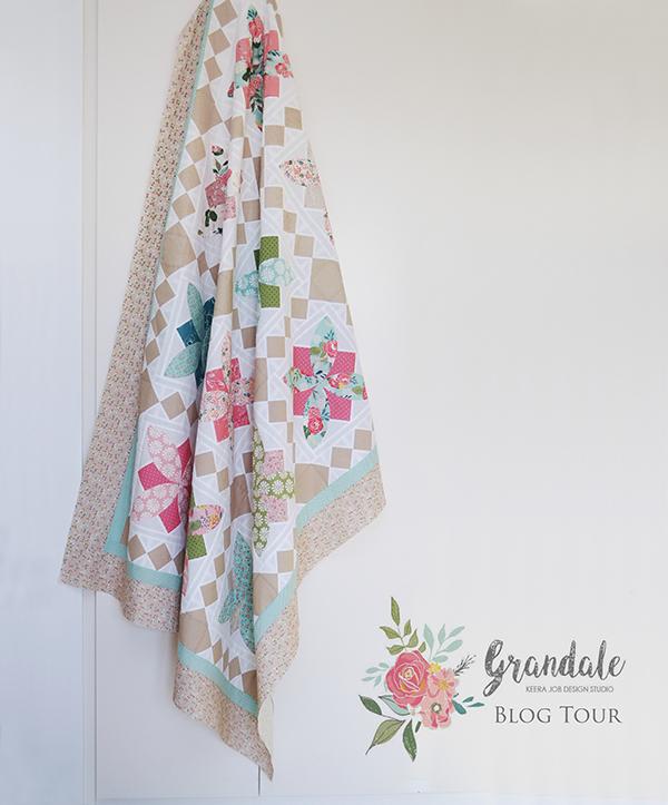 Down Grapevine Lane: Grandale Blog Tour: 'Topiary' Quilt