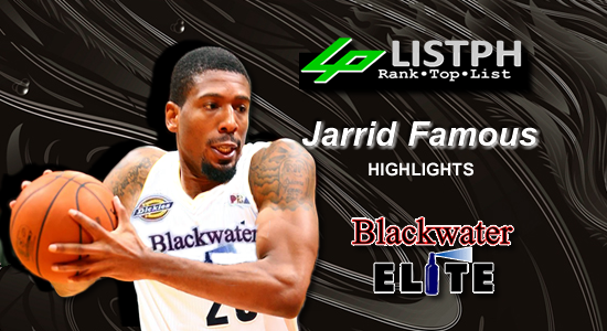 Video Playlist: Jarrid Famous Blackwater Elite import 2018 Commissioners' Cup highlights