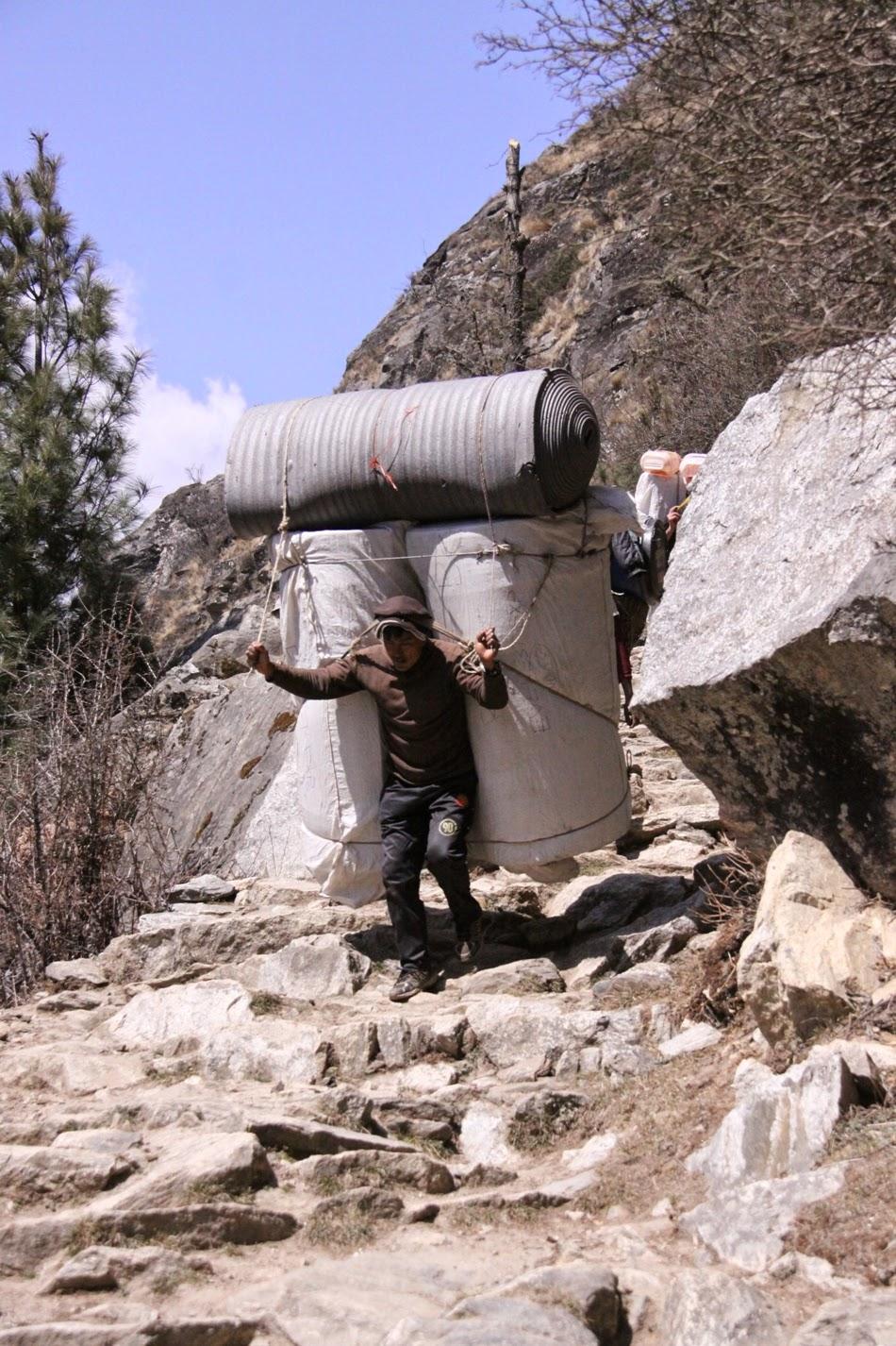 La Terra Degli Sherpa.Il Tetto Del Mondo Dalla Parte Degli Sherpa E Dei Porters