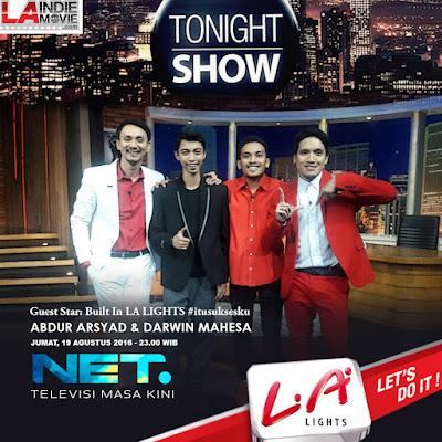 Darwin Mahesa on Tonight Show: Berkarya Konsisten dan Meraih Prestasi #itusuksesku