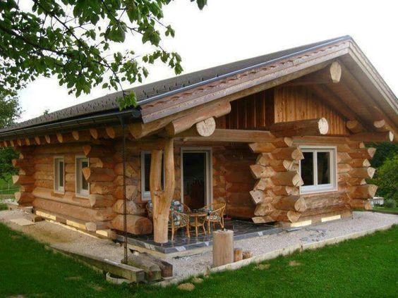 rumah kayu unik sederhana