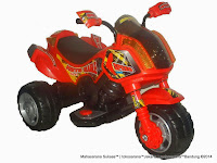Motor Mainan Aki Junior ME5641 Moto Sable XL Red