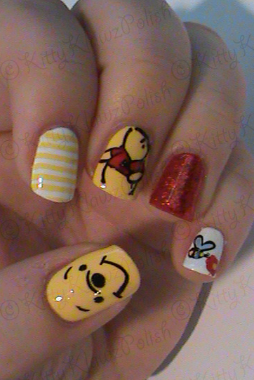 KittyKlawzPolish Stamping Nails: Winnie the Pooh Stamping ...
