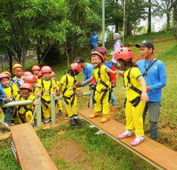 Outbound Anak di Makassar 1
