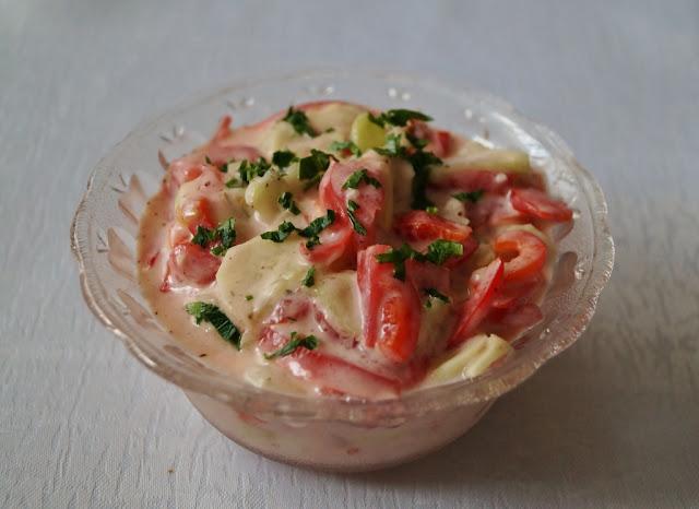 Sałatka pomidorowo-ogórkowa