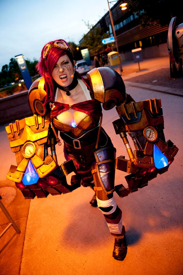 Chrix Design: Vi Cosplay revisited