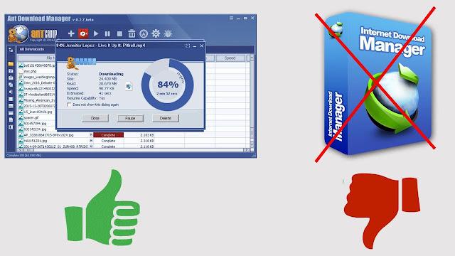 برنامج Ant Download Manager البديل المجاني لإنترنت داونلود مانجر