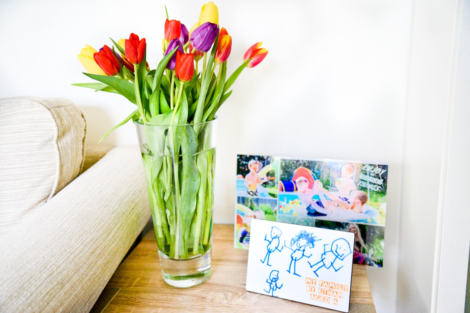 6 Ways To Instantly Add A Touch Of Spring To Your Home , rainbow tulips