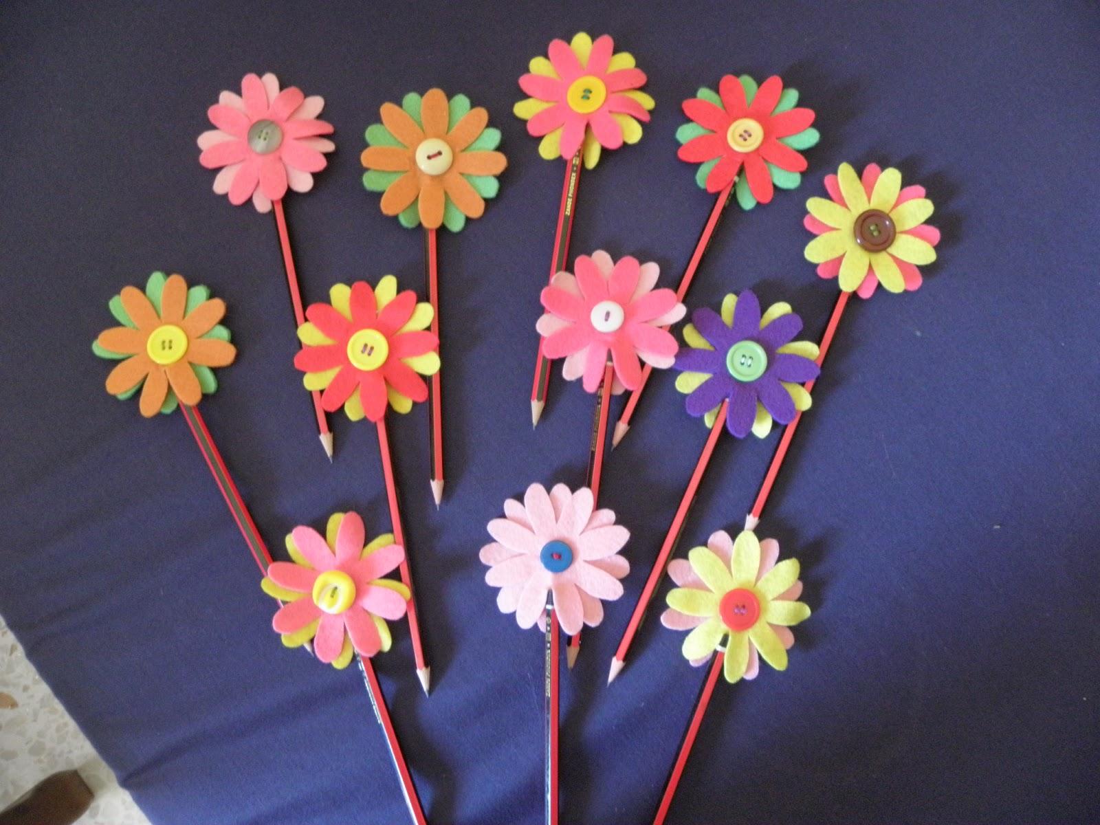 El olor de c diz flores marcos espejos cofres fimo - Adornos para lapices en goma eva ...
