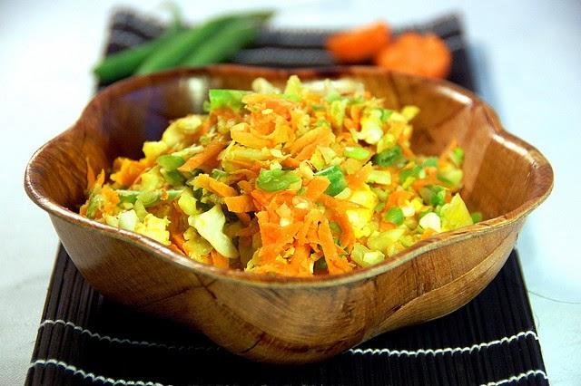 Menu sarapan sehat dan praktis telur orak-arik sayur (via perutgendut.com)