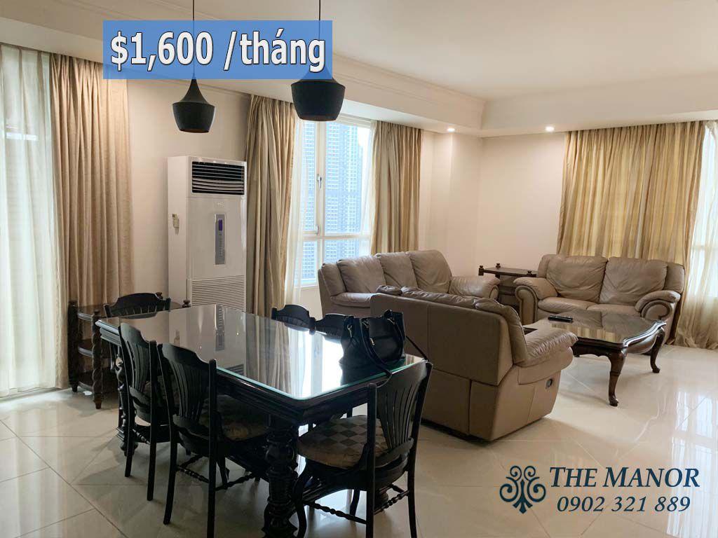 cho thuê căn hộ the manor 1 diện tích 167m2