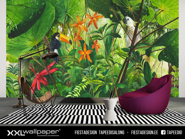 Pilttapeet XXL Wallpaper ³ #630 Jungle