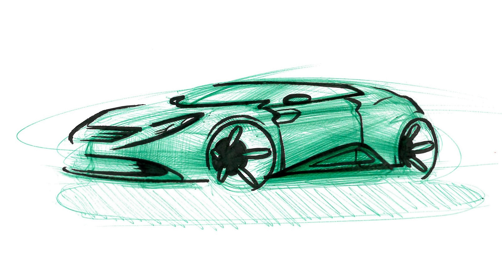 Simon Larsson - Sketchwall: Saving a car sketch with a marker