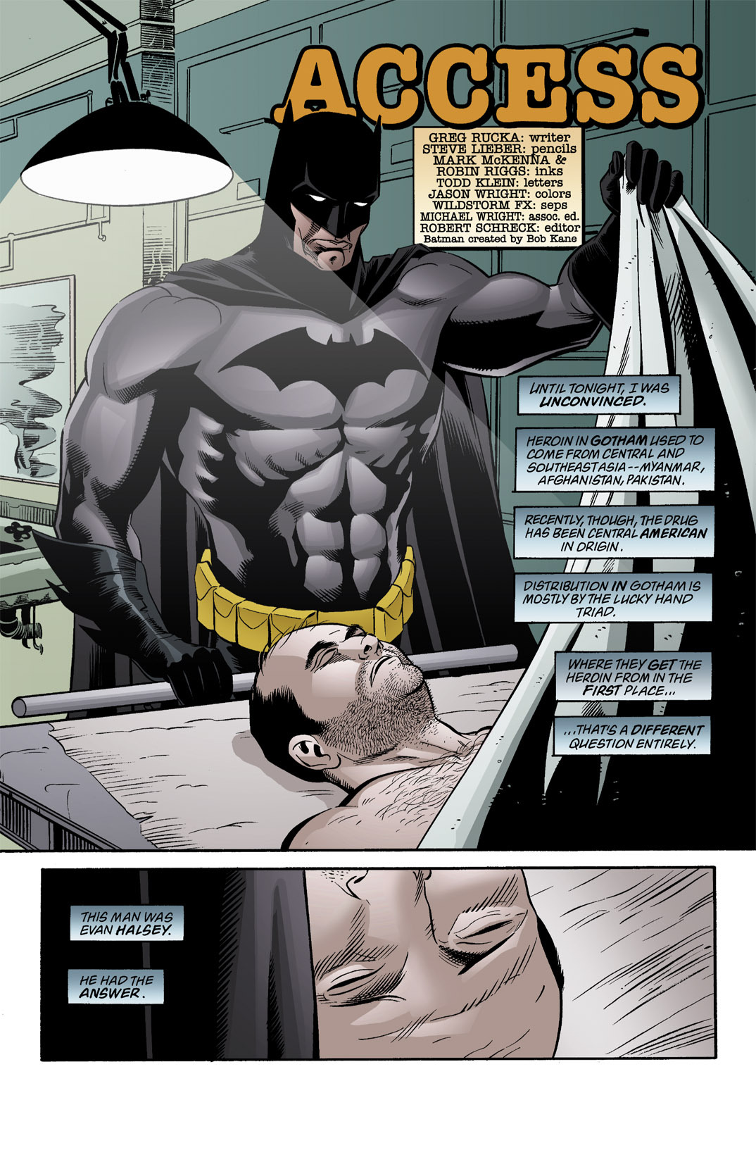 Detective Comics (1937) 771 Page 2