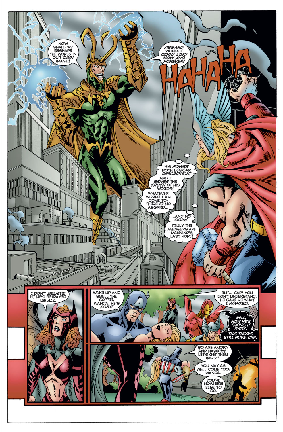 Read online Avengers (1996) comic -  Issue #11 - 4