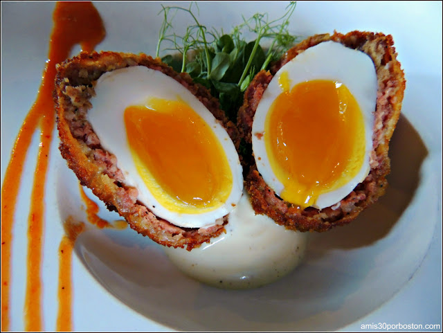 Duck Scotch Egg  $12