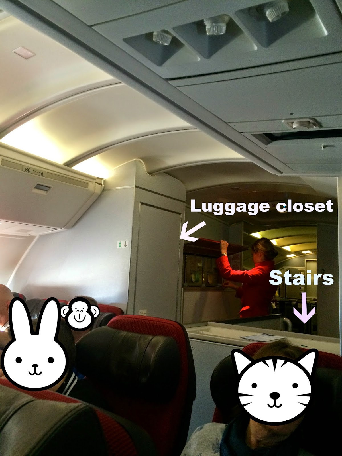 The Style Throne: Review of Virgin Atlantic upper deck (the