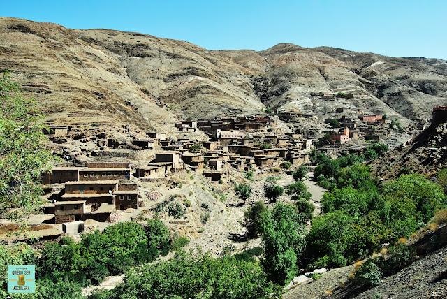 Pueblos de adobe en Marruecos