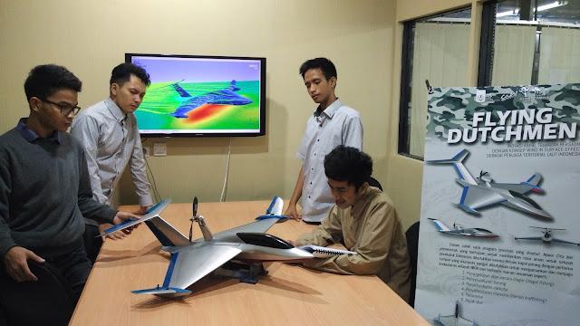 Flying Dutchmen, Kapal Trimaran Bersayap Inovasi ITS
