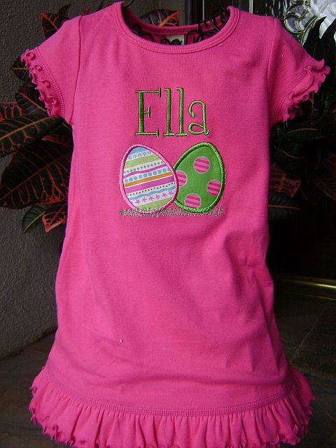 Sew Cute Creations Personalized Easter Dresses And Shirts