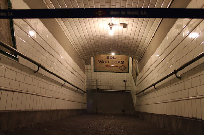 Pasillos del andén 0 o estación fantasma de Chamberí