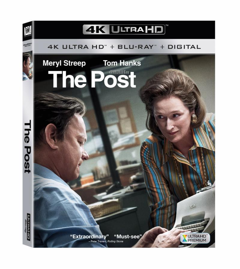 THE POST ARRIVES ON DIGITAL APRIL 3 AND 4K ULTRA HD™, BLU